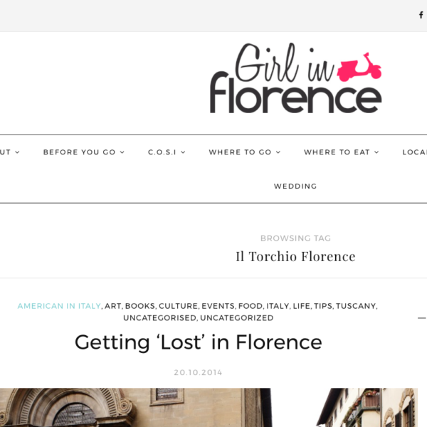 Girl In Florence